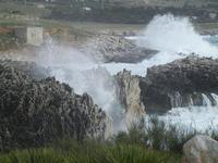 mare in tempesta all'Isulidda - 8 aprile 2012  - Macari (2724 clic)