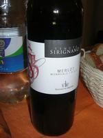 SIRIGNANO - Agriturismo - bottiglia di vino - 1 maggio 2012  - Monreale (1364 clic)