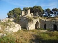 ruderi Castello Eufemio con papaveri - 2 giugno 2012  - Calatafimi segesta (344 clic)
