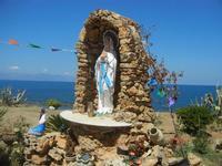 Madonna di Lourdes sul lungomare - 11 agosto 2012  - Trappeto (659 clic)