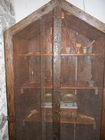 bacheca con antichi oggetti - piccolo museo etno-antropologico - Bosco di Scorace - Il Contadino - 1