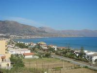 Zona Plaja - panorama ovest del Golfo di Castellammare  - 19 giugno 2012  - Alcamo marina (281 clic)