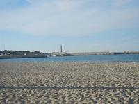 spiaggia, mare e faro - 9 maggio 2012  - San vito lo capo (297 clic)