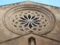 rosone della Chiesa di Sant'Agostino - 12 febbraio 2012  - Trapani (1132 clic)