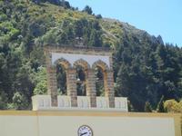 Santuario Madonna del Romitello - campane  - 9 maggio 2012  - Borgetto (805 clic)