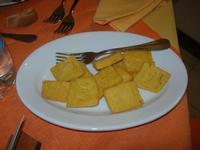SIRIGNANO - Agriturismo - antipasto - panelle - 1 maggio 2012  - Monreale (1296 clic)