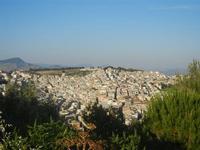 panorama della città dal Castello Eufemio - 2 giugno 2012  - Calatafimi segesta (350 clic)