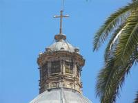 particolare cupola della Basilica S. Maria Assunta - 2 giugno 2012  - Alcamo (219 clic)