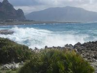 mare in tempesta all'Isulidda - 8 aprile 2012  - Macari (708 clic)