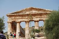 il tempio - 5 agosto 2012 - Foto di Nicolò Pecoraro  - Segesta (1515 clic)