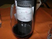 SIRIGNANO - Agriturismo - bottiglia e bicchiere di vino - 1 maggio 2012  - Monreale (1798 clic)