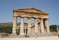 il tempio - 5 agosto 2012 - Foto di Nicolò Pecoraro  - Segesta (1157 clic)