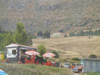 Cala Mazzo di Sciacca - entroterra - 11 luglio 2012  - Castellammare del golfo (186 clic)