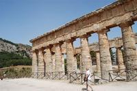 il tempio - 5 agosto 2012 - Foto di Nicolò Pecoraro  - Segesta (1792 clic)