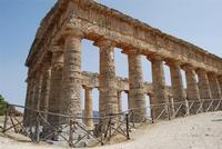 il tempio - 5 agosto 2012 - Foto di Nicolò Pecoraro  - Segesta (887 clic)