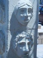 Cinque Sensi - particolare del Totem in memoria di Vito Imbornone - 26 agosto 2012  - Balestrate (496 clic)