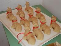 laboratorio agnelli pasquali - realizzati con pasta di mandorle presso l'I.C. G. Pascoli - 20 marzo 2012  - Castellammare del golfo (608 clic)