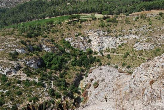 panorama area archeologica - SEGESTA - inserita il 08-Jun-15