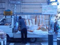 PLAS 2012 - la bancarella della frutta secca - 16 settembre 2012  - Castellammare del golfo (465 clic)