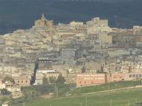 la città vista dal Lago Arancio - 26 febbraio 2012  - Sambuca di sicilia (527 clic)