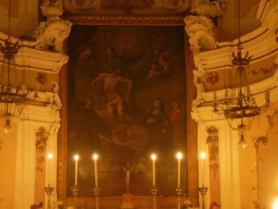 Chiesa della SS. Trinita' - interno - ALCAMO - inserita il 05-Nov-14