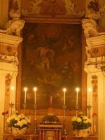 Chiesa della SS. Trinita' - interno - 6 maggio 2012  - Alcamo (437 clic)