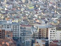 panorama dal Monte Bonifato - scorcio della città - 11 marzo 2012  - Alcamo (882 clic)