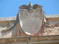 Palazzo del Barone Pastore - stemma  - 2 giugno 2012  - Alcamo (634 clic)