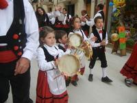 Festa di Primavera - Gruppo Folk Elimo - Sagra della salsiccia, del pane cunzato e dell'arance di Calatafimi Segesta - 22 aprile 2012  - Calatafimi segesta (500 clic)