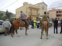 SPERONE - sfilata di cavalli - festa San Giuseppe Lavoratore - 29 aprile 2012  - Custonaci (464 clic)