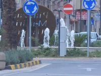 fontana e rotonda - 13 settembre 2012  - Trapani (424 clic)