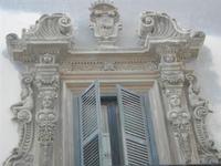 balcone - particolare architettonico - Soprintendenza Beni Culturali ed Ambientali - 12 febbraio 2012  - Trapani (1317 clic)