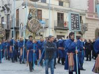 processione Maria Santissima dei Miracoli - trasferimento del simulacro dalla Basilica Santa Maria Assunta alla Chiesa dei SS. Paolo e Bartolomeo - 11 marzo 2012  - Alcamo (530 clic)