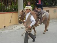 SPERONE - sfilata di cavalli - festa San Giuseppe Lavoratore - 29 aprile 2012  - Custonaci (474 clic)