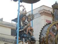 processione Maria Santissima dei Miracoli - trasferimento del simulacro dalla Basilica Santa Maria Assunta alla Chiesa dei SS. Paolo e Bartolomeo - 11 marzo 2012  - Alcamo (502 clic)
