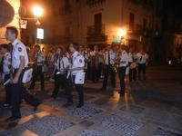 Processione  in onore di Maria SS. della Scala - la banda musicale - 8 settembre 2012  - Castellammare del golfo (582 clic)