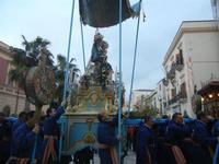 processione Maria Santissima dei Miracoli - trasferimento del simulacro dalla Basilica Santa Maria Assunta alla Chiesa dei SS. Paolo e Bartolomeo - 11 marzo 2012  - Alcamo (460 clic)