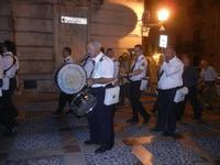 Processione  in onore di Maria SS. della Scala - la banda musicale - 8 settembre 2012  - Castellammare del golfo (1232 clic)