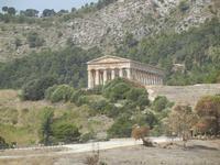 il tempio - 5 agosto 2012  - Segesta (653 clic)
