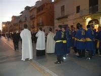 Processione in onore di San Giuseppe Lavoratore - 1 maggio 2012  - Alcamo (483 clic)