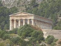 il tempio - 5 agosto 2012  - Segesta (2006 clic)