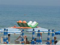 Spiaggia Plaja - lido e giochi acquatici - 11 luglio 2012  - Castellammare del golfo (222 clic)