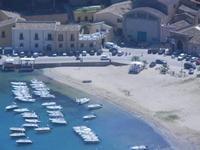 Cala Marina dal Belvedere - 27 agosto 2012  - Castellammare del golfo (275 clic)