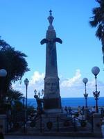 Monumento ai Caduti  - guerra 1915/1918 - Villa Comunale -16 settembre 2012  - Castellammare del golfo (277 clic)