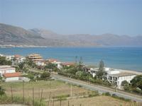 Zona Plaja - panorama ovest del Golfo di Castellammare - 21 giugno 2012  - Alcamo marina (297 clic)