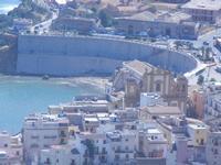 Chiesa Madre, Cala e Piazza Petrolo dal Belvedere - 27 agosto 2012  - Castellammare del golfo (278 clic)