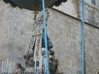 processione Maria Santissima dei Miracoli - trasferimento del simulacro dalla Basilica Santa Maria Assunta alla Chiesa dei SS. Paolo e Bartolomeo - 11 marzo 2012  - Alcamo (465 clic)