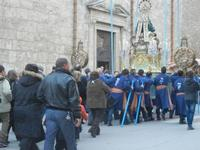processione Maria Santissima dei Miracoli - trasferimento del simulacro dalla Basilica Santa Maria Assunta alla Chiesa dei SS. Paolo e Bartolomeo - 11 marzo 2012  - Alcamo (493 clic)