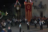 Il Corteo Storico di S. Rita - stendardieri - foto di Nicolò Pecoraro - 19 maggio 2012  - Castellammare del golfo (373 clic)