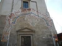 luminarie in Piazza Ciullo - Chiesa di Sant'Oliva - 11 marzo 2012  - Alcamo (576 clic)